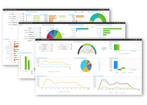 What is ERP? CSI SyteLIne Software on monitors