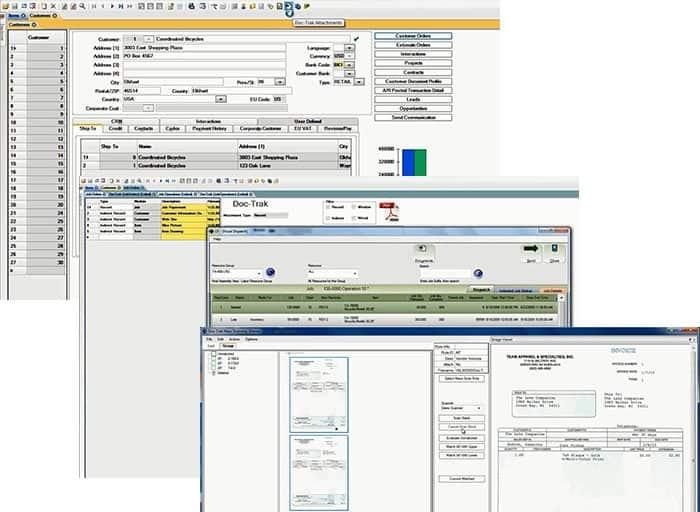 Infor-SyteLine-ERP-Manufacturing-software-doc-trak-godlan-manufacturing