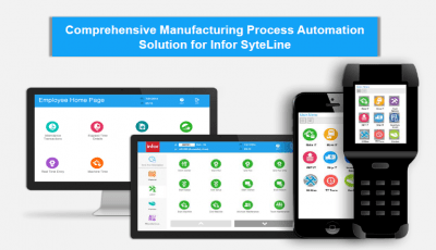 Factory Track Manufacturing Process Automation