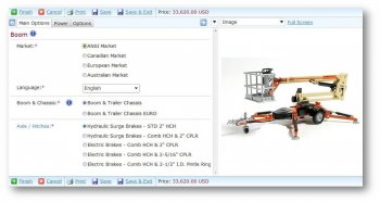 Configurator Syteline ERP Manufacturing Software PCM