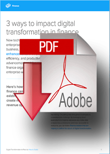 Whitepaper- 3 Ways to Impact Digital Transformation