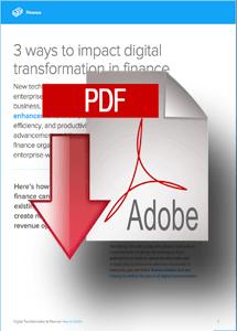 Whitepaper- 3 Ways to Impact Digital Transformation