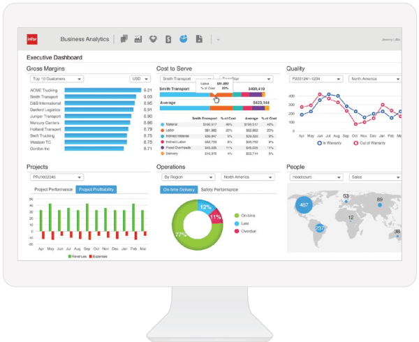 Infor Business Analytics - The Intelligence You Need