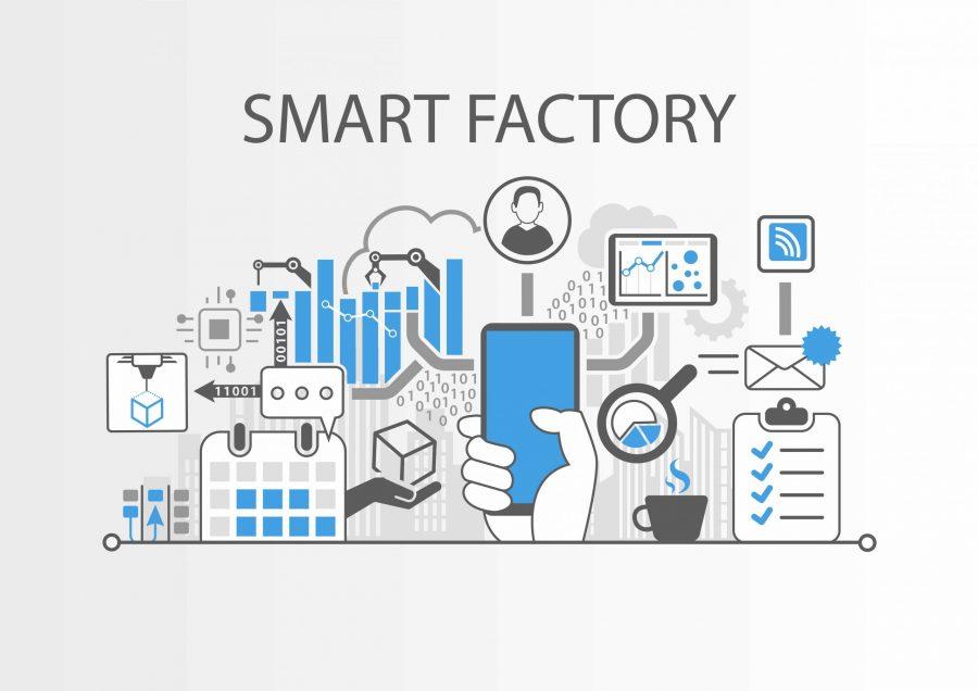 Smart Factory Illustration Godlan